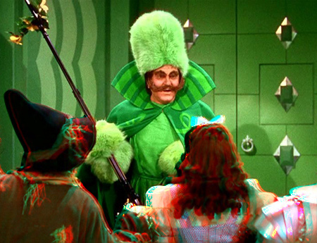 Wizard of Oz in 3D