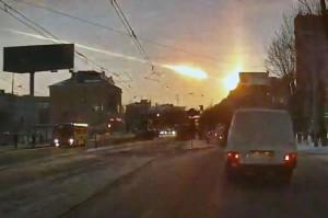 airburst over Chelyabinsk, Russia