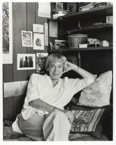 Marian Wood Kolisch (American, 1920-2008), Ursula K. Le Guin, 1988, gelatin silver print, Bequest of Marian Wood Kolisch, © Portland Art Museum, 2009.30.35